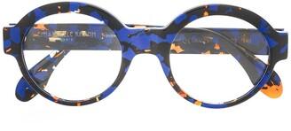 Emmanuelle Khanh Abstract Print Glasses