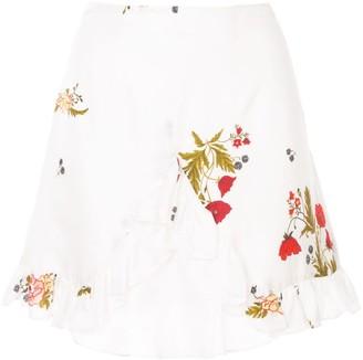 macgraw Bonjour ruffle skirt