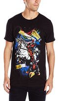 Marvel Men's Deadpool Taco Horse Short Sleeve Graphic T-Shirt