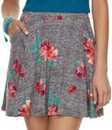 So Juniors' SO Floral Skater Skirt