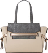 Dune Delphi faux leather winged tote