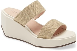 Cecelia New York Bailey Wedge Platform Slide Sandal