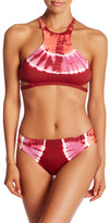 Lucky Brand Half Moon High Neck Bikini Top