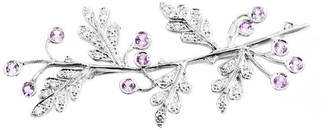Heritage Cathy Waterman Cathy Waterman Platinum 3.90 Ct. Tw. Diamond & Sapphire Brooch