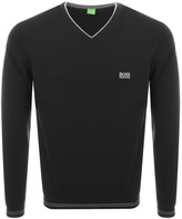 BOSS GREEN Vime Knitted Jumper Black