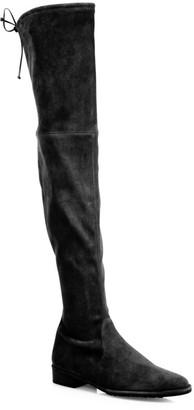 Stuart Weitzman Lowland Over-The-Knee Suede Boots