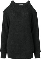 IRO cut-out ribbed jumper - women - Acrylic/Alpaca/Merino - XS