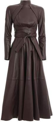 Zimmermann Resistance Leather Dress