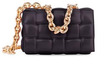 Bottega Veneta The Chain Padded Cassette Leather Shoulder Bag