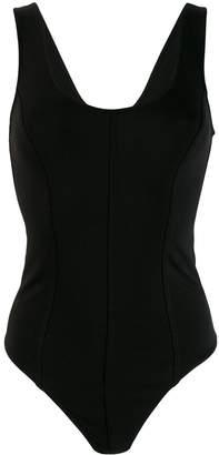 Vince panelled bodysuit