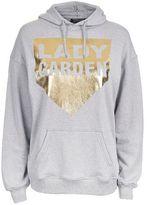 Topshop Grey Hoodie by Lady Garden