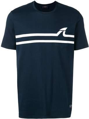 Paul & Shark Shark Fin print T-shirt