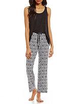 Josie Floral Tile Jersey Pajamas