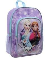 Disney Girls' Frozen Anna, Elsa and Olaf 16 Inch Full Size School Backpack
