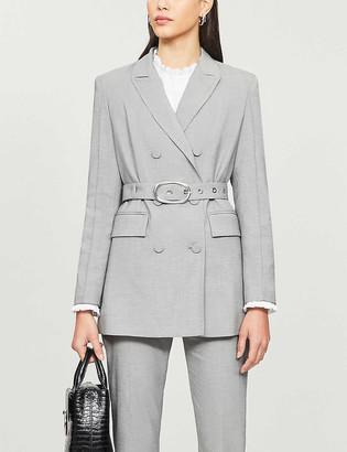Claudie Pierlot Belted woven blazer