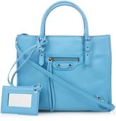 Balenciaga Papier A4 mini leather cross-body bag