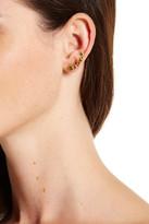 Rivka Friedman 18K Gold Plated Simulated Peridot Earrings