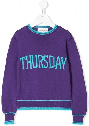Alberta Ferretti Kids Thursday sweater