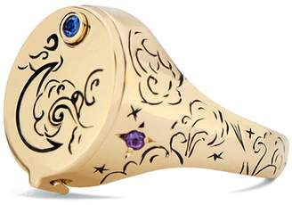 Dru Beacon Conservatory Signet Ring - Yellow Gold