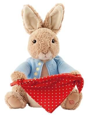 Beatrix Potter Peter Rabbit Peek-A-Boo Game Soft Toy