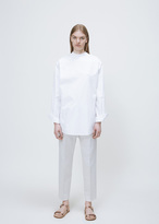 Jil Sander white carolina shirt