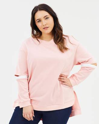 Advocado Plus The Split Sleeve Sweater