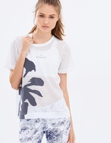 adidas by Stella McCartney Climacool Floral Mesh Tee