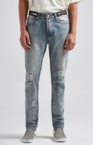 Civil ZZ Destroyed Zipper Jeans