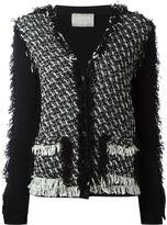 Lanvin tweed cardigan