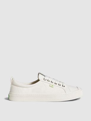 Cariuma OCA Low Off-White Canvas Sneaker Men