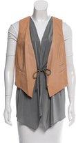 Brunello Cucinelli Layered Drawstring Vest w/ Tags