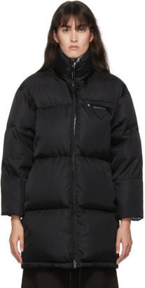Prada Black Down Recycled Nylon Jacket