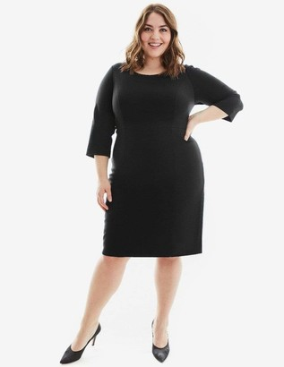 Gravitas Amelia Dress in Black Size 10-HEM UP