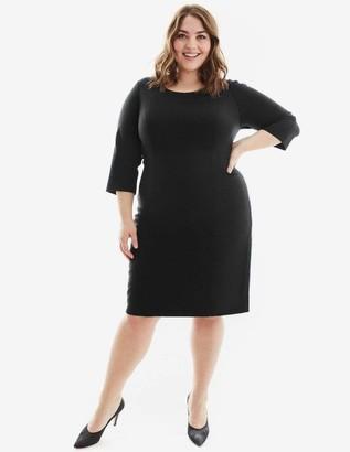 Gravitas Amelia Dress in Black Size 16-HEM UP
