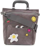 Anya Hindmarch Glitter Stickers Orsett bag