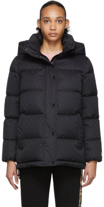 Burberry Black Down Sellindge Short Jacket