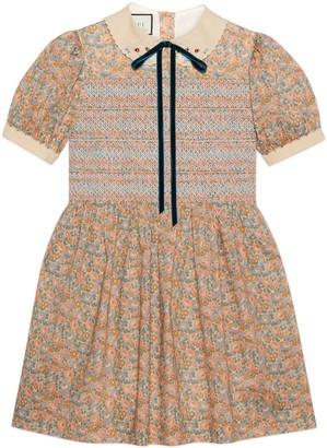 Gucci Liberty floral cotton dress