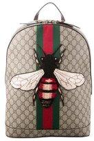 Gucci 2016 Web Animalier Bee Backpack