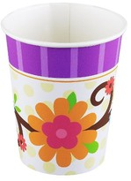 BuySeasons Owl Blossom 9oz Paper Cups - 8 count