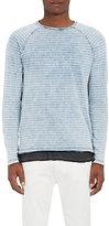 Barneys New York Men's Striped Cotton Long-Sleeve T-shirt