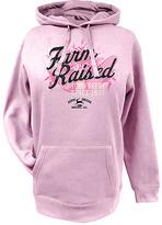 John Deere Pink 'Farm Raised' Hoodie - Plus Too