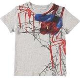Marvel Spiderman Boys/Teens 8-20 Graphic Print T-Shirt, 10-12, Grey