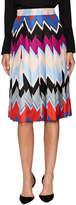 Salvatore Ferragamo Women's Silk Printed Knee Length Skirt