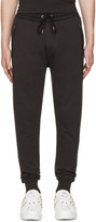 Burberry Black Haleford Lounge Pants