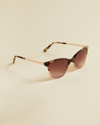 Ted Baker SEAENA Tortoiseshell round sunglasses