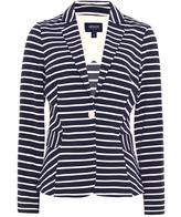Armani Jeans Stripe Jersey Blazer