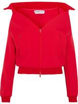 Balenciaga Swing Jersey Jacket - Red
