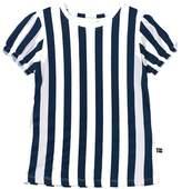 The BRAND Blue Stripe Girly Tee