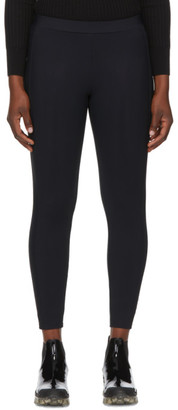 Moncler Black Elastic Band Leggings