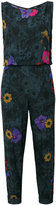 Diesel floral-print jumpsuit - women - Viscose - XS